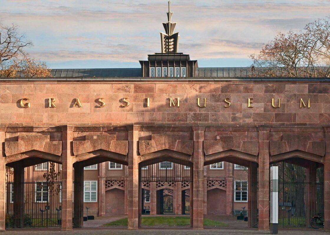 Portal of the Grassi Museum Leipzig